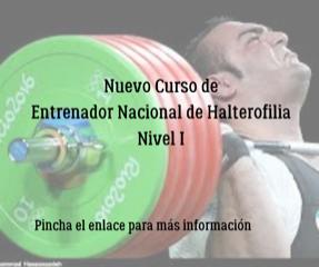 Curso de Entrenador Nacional de Halterofilia Nivel I (En curso)
